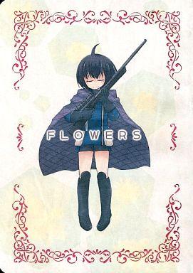 <<ワールドトリガー>> FLOWERS (雨取千佳、木虎藍、夏目出穂) / 緋ノ月屋
