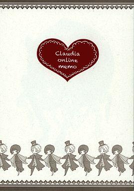 【中古】一般向け 女性・ボーイズラブ同人誌 <<ヘタリア>> Claudia online memo (アーサー×本田菊) / クロウディア