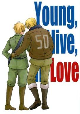【中古】一般向け 女性・ボーイズラブ同人誌 <<ヘタリア>> Young,Alive,in Love (アルフレッド、アーサー) / フジコン17