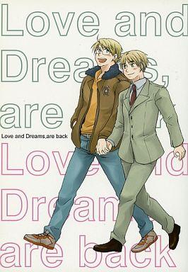 【中古】一般向け 女性・ボーイズラブ同人誌 <<ヘタリア>> Love and Dreams,are back (アルフレッド×アーサー) / フジコン17