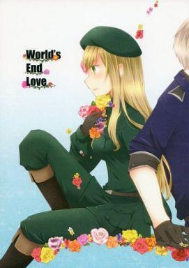 【中古】一般向け 女性・ボーイズラブ同人誌 <<ヘタリア>> World's End Love (プロイセン×ハンガリー) / ぷるせん