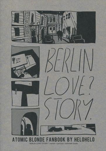 中古一般向け 女性・ボーイズラブ同人誌 <<映画>> BERLIN LOVE? STORY (メルケル×パーシヴァル) / hellohello