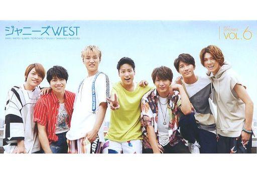 【中古】アイドル雑誌 ジャニーズWEST ファンクラブ会報 Vol.6