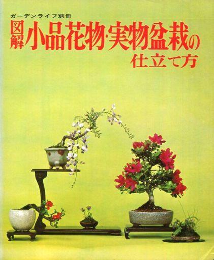 【中古】カルチャー雑誌 図解小品花物・実物盆栽の仕立て方