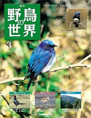 【中古】動物・ペット雑誌 週刊野鳥の世界全国版 3