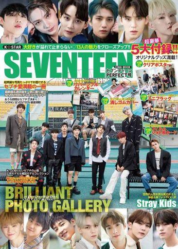 英和出版社 新品 韓流雑誌 付録付)K☆STAR SEVENTEEN PERFECT号