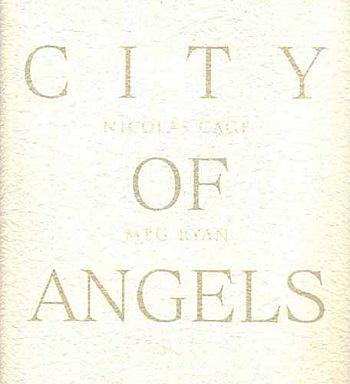 【中古】パンフレット(洋画) パンフ)CITY OF ANGELS
