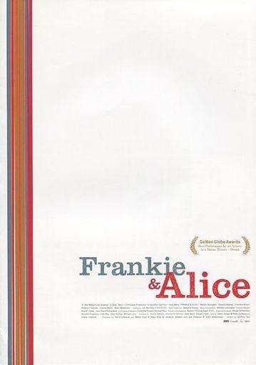 【中古】パンフレット パンフ)Frankie & Alice(プレスシート)