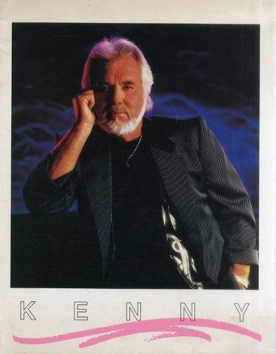 【中古】パンフレット(ライブ・コンサート) パンフ)KENNY(ケニー・ロジャース1989公演)