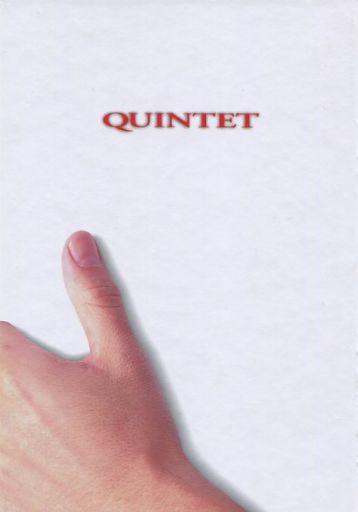 【中古】パンフレット パンフ)QUINTET クインテット