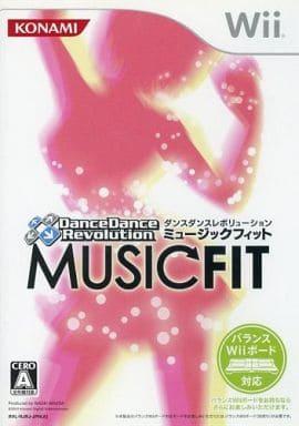 ダンスダンスレボリューション ミュージックフィット(状態:外箱・DDR専用マット欠品)