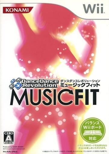 ダンスダンスレボリューション ミュージックフィット[通常版](状態:説明書欠品)