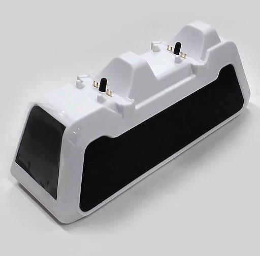PS5コントローラ充電スタンド(2台用) (箱説無し/メーカー不詳品)
