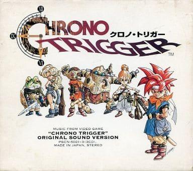 クロノ・トリガー オリジナル・サウンド・ヴァージョン (状態:特殊ケース・スリーブ状態難)