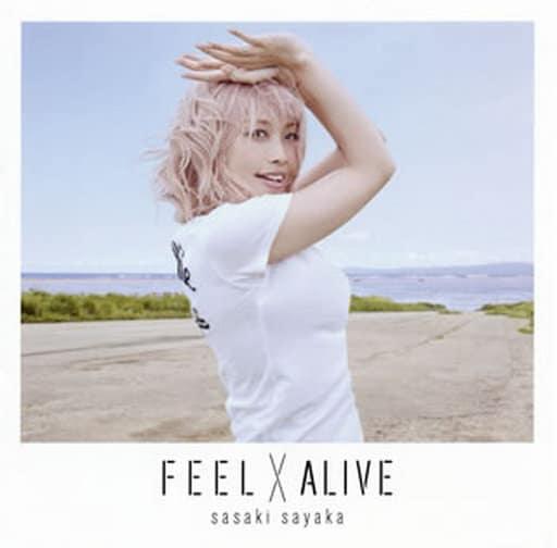 佐咲紗花 / FEEL×ALIVE[アーティスト盤] ~TVアニメ「ばくおん!!」オープニングテーマ