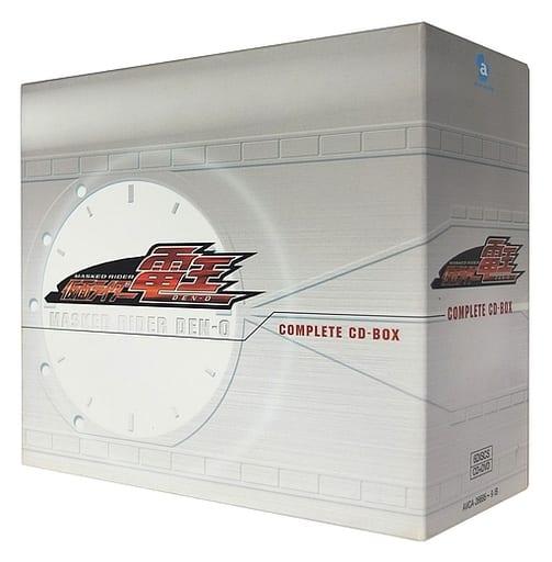 仮面ライダー電王 COMPLETE CD-BOX[DVD付](状態:ディスク2欠品、収納BOX状態難)