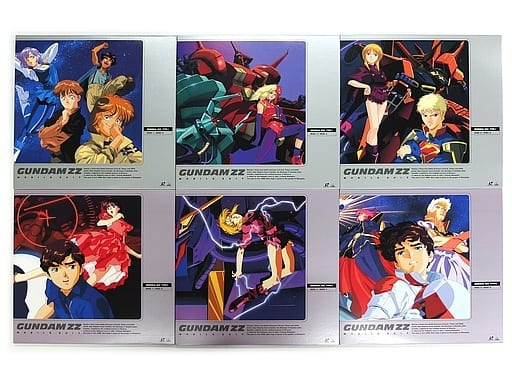 不備有)機動戦士ガンダムZZ LD-BOX 初回版 全2BOXセット(状態:全特典欠品)