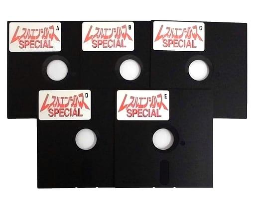 レッスルエンジェルス SPECIAL [5インチFD・HDD専用版](状態:ゲームディスクのみ)