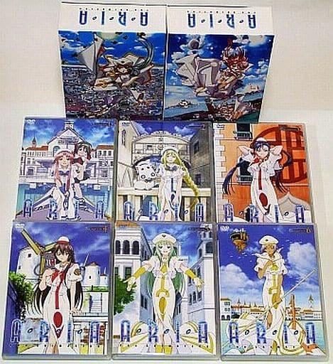 不備有)ARIA ジ・アニメーション 初回版全6巻セット(状態:封入特典欠品)