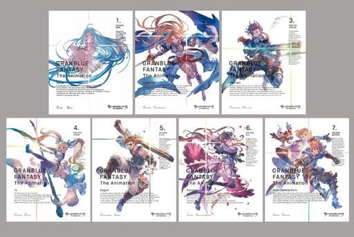 GRANBLUE FANTASY The Animation 完全生産限定版 全7巻セット