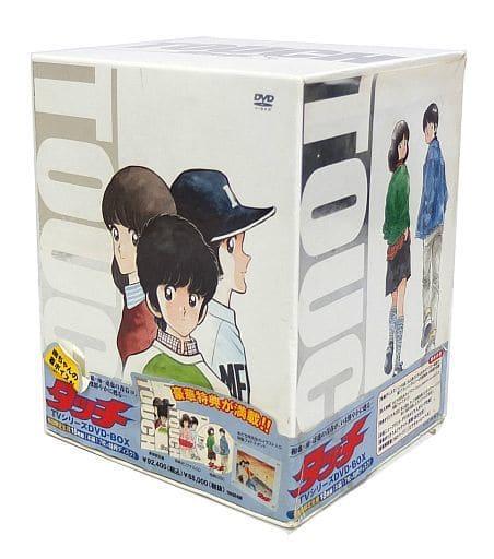 不備有)「タッチ TVシリーズ」 DVD-BOX [初回限定生産](状態:BOXに傷・汚れ・剥がれ、CDケース(歌詞ブックレット部分含む)に汚れ有り)