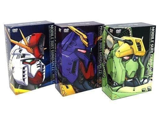 不備有)機動戦士ガンダムZZ メモリアルボックス 全3BOXセット(状態:三方背BOXに難有り)