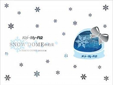 不備有)Kis-My-Ft2 / SNOW DOMEの約束 IN TOKYO DOME 2013.11.16[初回生産限定盤](状態:クリアケース欠品、ブックレット・写真集・ケース難有り)