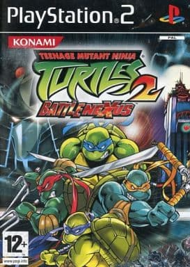 EU版 TEENAGE MUTANT NINJA TURTLES2 BATTLENEXUS [PAL版](国内版本体不可)
