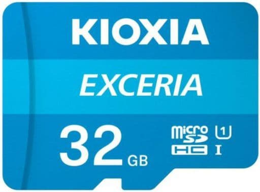 KIOXIA microSDHCカード class10 EXCERIA 32GB [KCB-MC032GA]