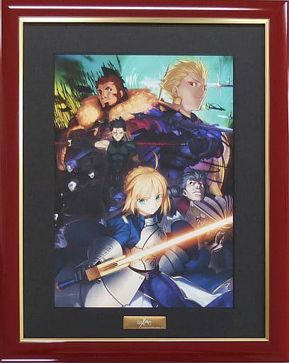 駿河屋 買取 Fate Zero キャラファイングラフ 会場限定額装版 Boxイラストi アニメムック