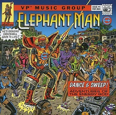 ELEPHANT MAN / DANCE & SWEEP![輸入盤]