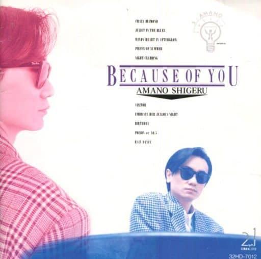 天野滋 / BECAUSE OF YOU(廃盤)