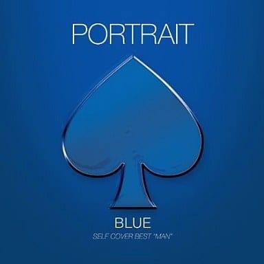 PORTRAIT BLUE SELF COVER BEST MAN