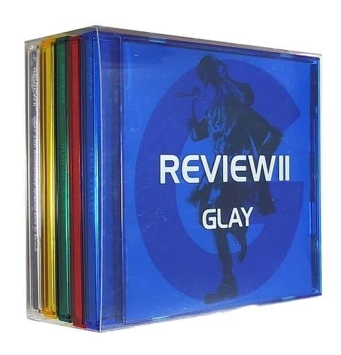 GLAY / REVIEW II ~BEST OF GLAY~[Blu-ray付](状態:クリア収納BOX状態難)