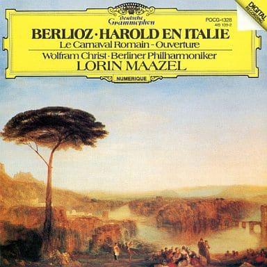 ロリン・マゼール(指揮) ヴォルフラム・クリスト(ヴィオラ) ベルリン・フィルハーモニー管弦楽団 / ベルリオーズ:交響曲「イタリアのハロルド」 序曲「ローマの謝肉祭」