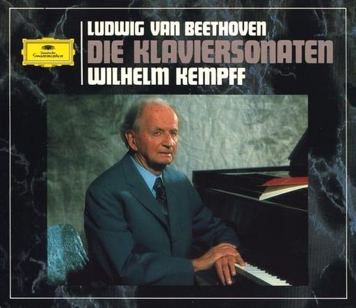 ウィルヘルム・ケンプ(ピアノ) / ベートーヴェン:ピアノ・ソナタ全集(状態:ディスク4・8・日本語解説書欠品)
