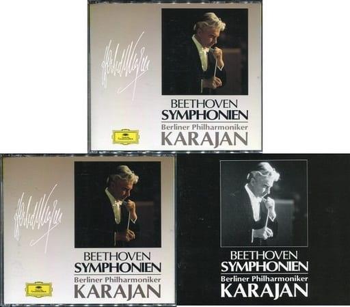 ヘルベルト・フォン・カラヤン / ベートーヴェン:交響曲全集/序曲集 (I)(II)(状態:ディスク2・4・収納BOX欠品)