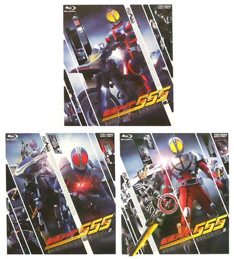 仮面ライダー555(ファイズ) Blu-ray BOX 全3巻セット
