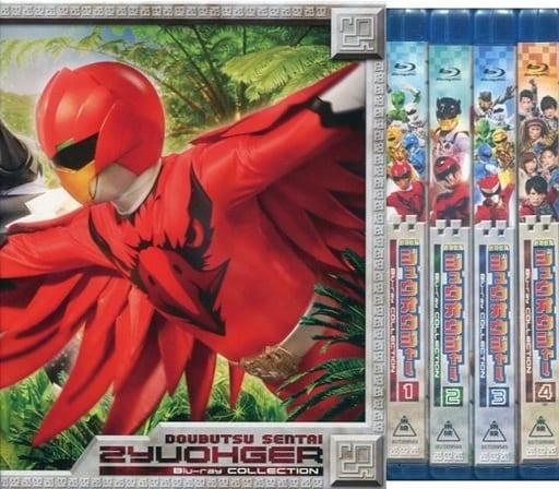 動物戦隊ジュウオウジャー Blu-ray COLLECTION 初回限定版 BOX付き全4巻セット