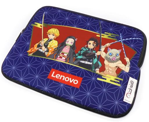 集合(和柄) PC&タブレットソフトケース(7~10.3inch対応) 「Lenovo×鬼滅の刃」 対象商品購入特典