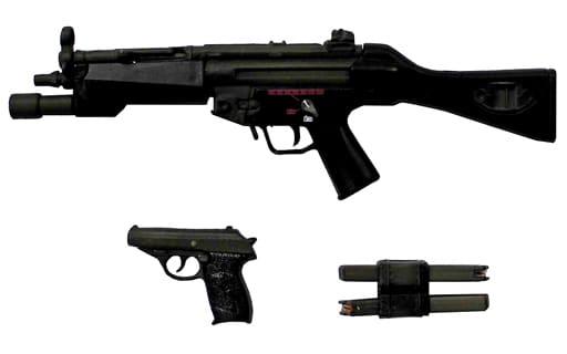 タイプMP5A4&タイプP232(ブラック) 「メインウェポン&サイドアームズ」