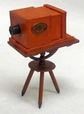 ダゲレオタイプカメラ 「大人の科学 世界の発明品コレクション」