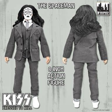 エース・フレイリー(The Spaceman) 「KISS」 レトロ 8インチフィギュアシリーズ5 地獄への接吻