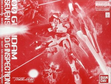 MG GN-0000GNHW/7SGD2 七剑型00高达/G 监察者(1:100)