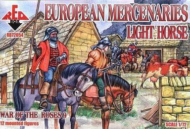 1/72 十五世紀ばら戦争欧州傭兵-軽装騎士・12騎 [ORR7254]