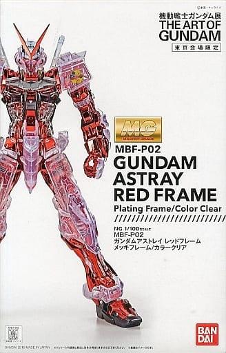 MG MBF-P02 异端高达红色机(1:100 骨架电镀/彩色透明版)