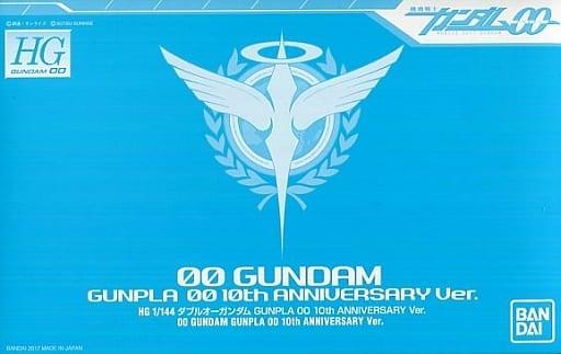 HG GN-0000 00高达(1:144 00系列钢普拉发售十周年纪念版)