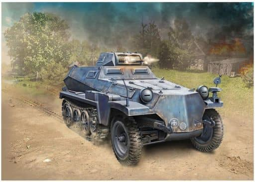 1/35 WW.II ドイツSd.Kfz.253 軽装甲観測車 I号戦車砲塔付き スマートキット [DR6952]