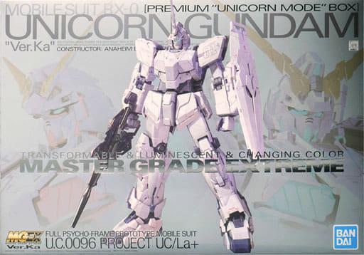 1/100 MGEX RX-0 ユニコーンガンダム Ver.Ka プレミアム ユニコーンモード ボックス「機動戦士ガンダムUC」 プレミアムバンダイ限定 [5061045