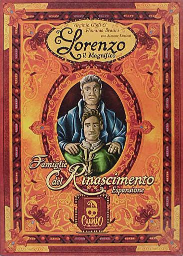ロレンツォ・イル・マニーフィコ 拡張セット ルネッサンスの貴族たち イタリア語版 (Lorenzo der Prachtige: Familien der Renaissance) [日本語訳付き]